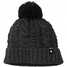 Smartwool Ski Town Hat In Charcoal Heather Wool/Acrylic