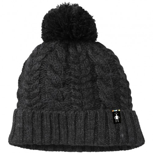 9732fa615bafd Smartwool Ski Town Hat In Charcoal Heather Wool Acrylic