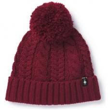 Smartwool Ski Town Hat In Tibetan Red Wool/Acrylic