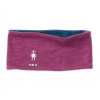 Smartwool Merino 250 Reversible Headband In Sangria Heather-Deep Marlin Heather Merino Wool