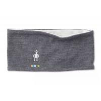 Smartwool Merino 250 Reversible Headband In Medium Gray Heather-Ash Heather Merino Wool