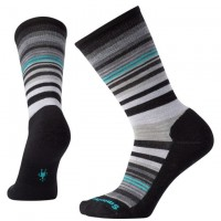 Smartwool Jovian Stripe Socks In Black Wool/Nylon