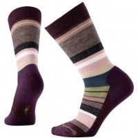 Smartwool Saturnsphere Socks In Bordeaux Heather Wool/Nylon