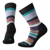 Smartwool Saturnsphere Socks In Black/Meadow Mauve Wool/Nylon