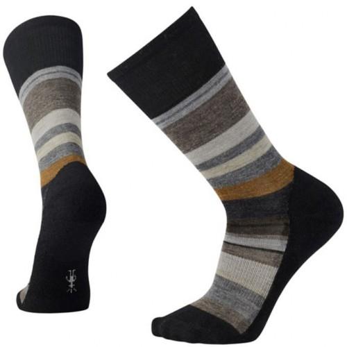 Smartwool Saturnsphere Socks In Black/White Wool/Nylon