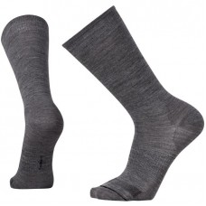 Smartwool Anchor Line Socks In Medium Grey/Black Wool/Nylon