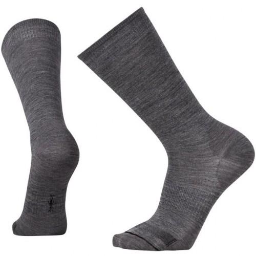 Smartwool Anchor Line Socks In Medium Grey/Black Wool/Nylon