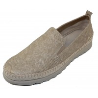 The Flexx Women's Chappie In Gold Milos Embossed Suede