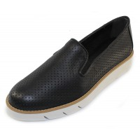 The Flexx Women's Daily In Black Cristallo Leather
