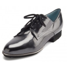 Thierry Rabotin Women's Ace In Black Bryon Irredescent Patent Leather
