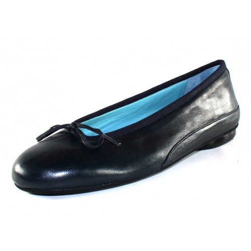 Thierry Rabotin Women's Gem In Navy Blue Nappa Leather