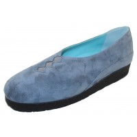 Thierry Rabotin Women's Grace In Blue Grey Suede