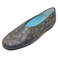 Thierry Rabotin Women's Grace In Pewter Africa Printed Leather