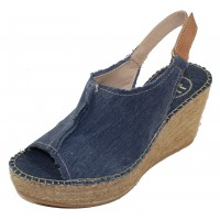 Toni Pons Women's Lugano In Navy Distressed Canvas