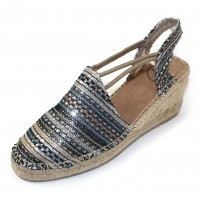 Toni Pons Women's Tania-Rk In Taupe Multi Fabric