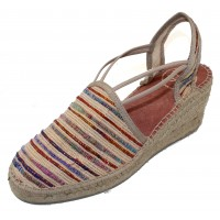 Toni Pons Women's Tania-Sn In Beige Multi Fabric