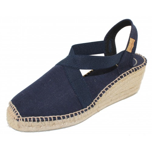 Toni Pons Women's Ter In Navy Fabric