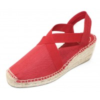 Toni Pons Women's Ter In Red Vermell Fabric
