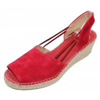 Toni Pons Women's Tibet-A In Red Fabric