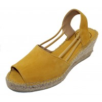 Toni Pons Women's Tibet-A In Yellow Suede