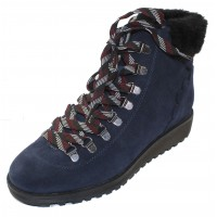 Valdini Women's Sake Waterproof In Navy Suede