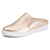 Vionic Women's Dakota Metallic Mule In Rose Gold Leather