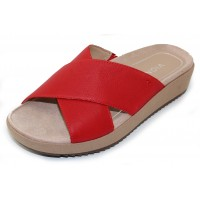 Vionic Women's Hayden In Cherry Leather