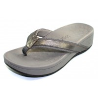 Vionic Women's Hightide In Pewter Leather/Fabric