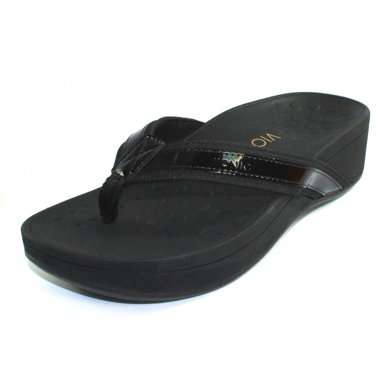 59104d96aa3a Privacy Policy · Events · Vionic Women s Hightide In Black Patent  Leather Fabric