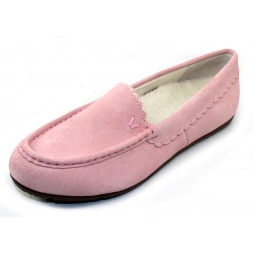 Vionic Women's Mckenzie In Light Pink Suede