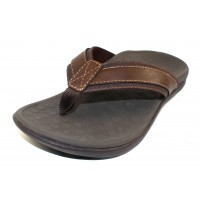 Vionic Men's Tide In Brown Leather