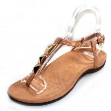 Vionic Women's Nala In Gold Cork Leather