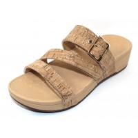 Vionic Women's Rio In Gold Cork
