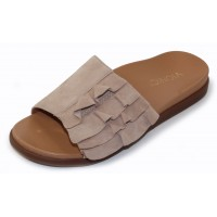 Vionic Women's Roni In Nude Kid Suede