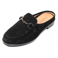Vionic Women's Salie In Black Nubuck Leather