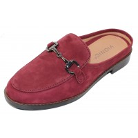Vionic Women's Salie In Wine Nubuck Leather