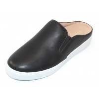 Vionic Women's Dakota Mule In Black Leather