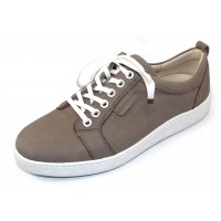 Waldlaufer Women's Mica 921003 In Taupe Nubuck