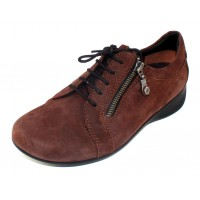 Wolky Women's Bonnie In Brown Nubuck