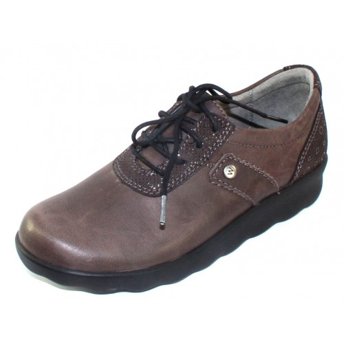Wolky Women's Nido In Gray Cartagena Leather