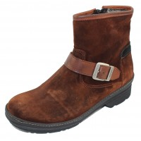 Wolky Women's Nitra Wp In Tobacco Waterproof Suede/Leather