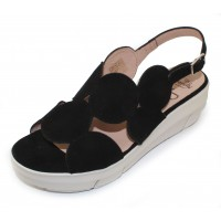 Wonders Women's D-8210 In Black Suede