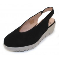 Wonders Women's C-33124 In Black Suede