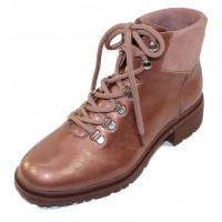 Wonders Women's C-4840 In Blush Lack Crinkle Patent Leather