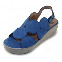 Wonders Women's D-8210 In Blue Suede