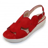 Wonders Women's D-8210 In Red Suede