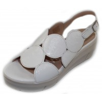 Wonders Women's D-8210 In White Lack Patent Leather