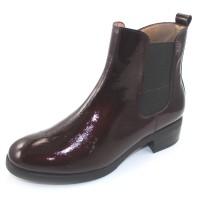 Wonders Women's D-9308-W In Wine Waterproof Patent Leather