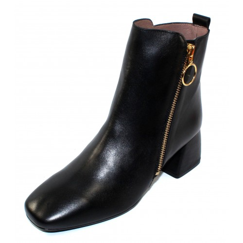 Wonders Women's H-3324 In Black Iseo Leather