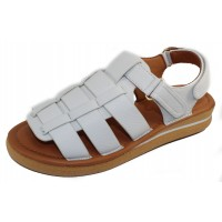 Yes Women's Galaxy In White Plonge Calfskin Leather